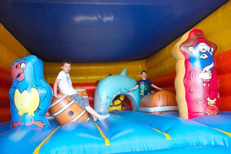 Structure gonflable pour les enfants